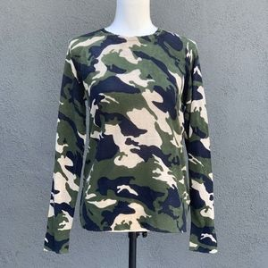 Zadig & Voltaire | 100% Cashmere | Camo Sweater